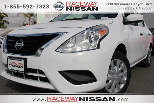 2017 NISSAN VERSA S SEDAN Specials at Raceway Nissan