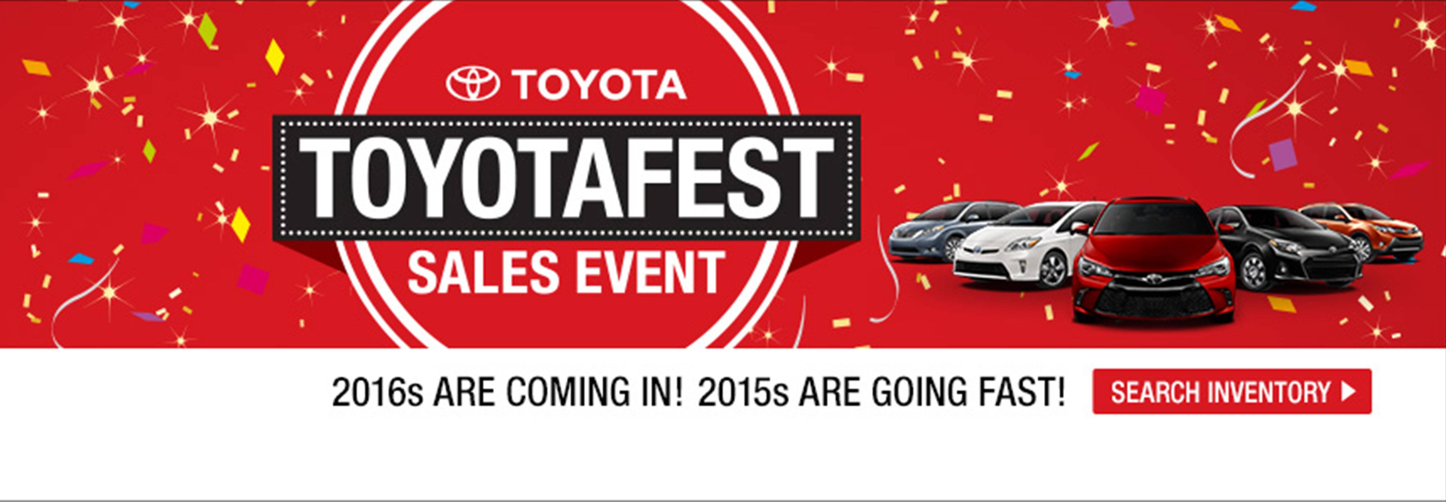 Toyotafest-Sales Event
