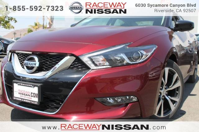 NEW 2017 NISSAN MAXIMA SPECIAL AT RACEWAY NISSAN Raceway Nissan
