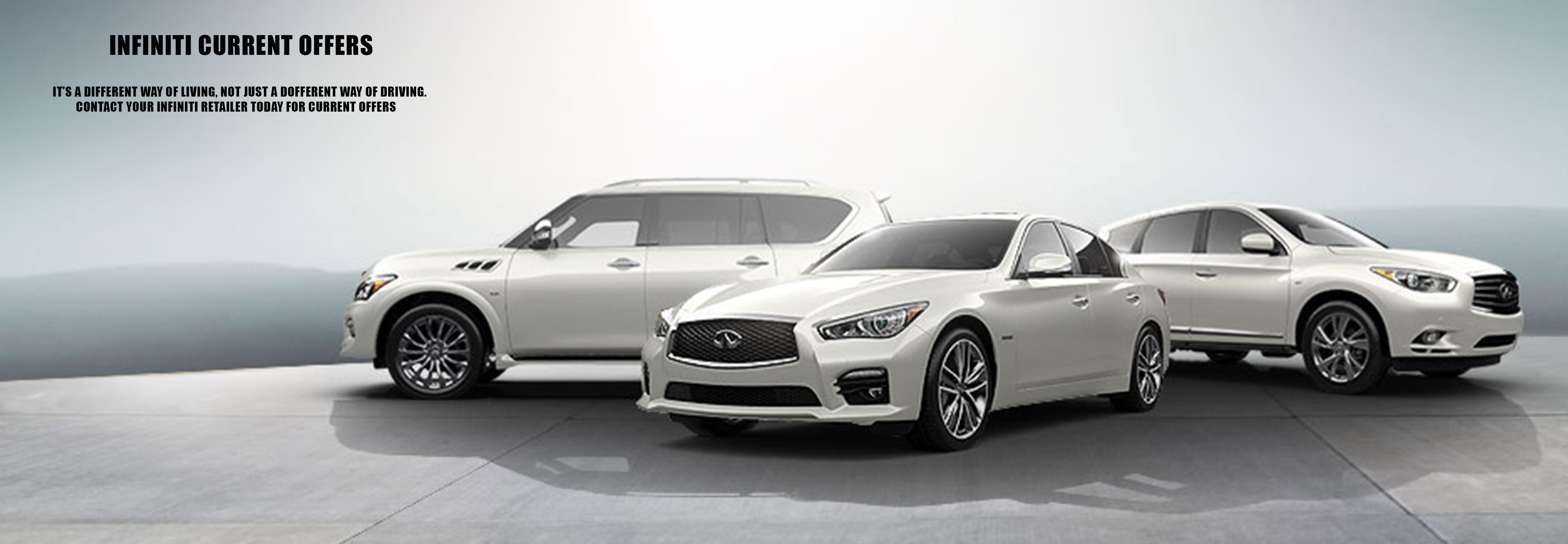 Infiniti Current Offers