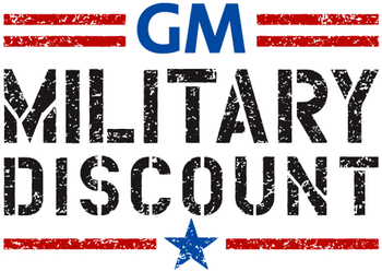 Singh Chevrolet is proud to participate in General Motors' Military Discount Program.