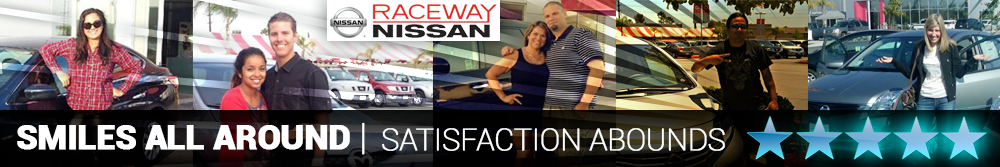 Smiles all around Raceway Nissan