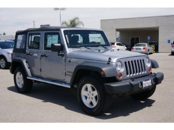 2013 Jeep Wrangler Unlimited 4 Door SUV